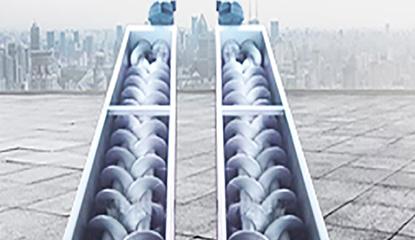 当螺旋输送机停机时该怎么处理?